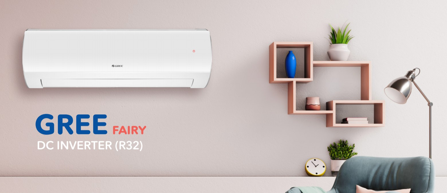 Klimatizácia GREE FAIRY, nástenná s WiFi modulom